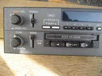 Delco am /fm radio and tape combo unit. Model 16169161 $15
