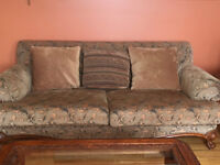 High end couch and Large Chair
