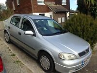 Vauxhall Astra 2002 Automatic, 1.6 Silver, 104,000 miles - £350 ono