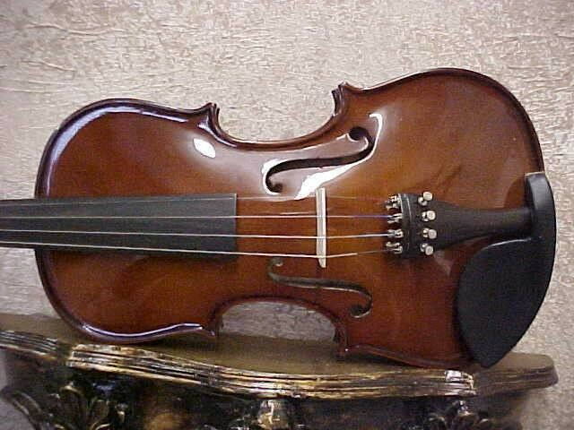 VIOLINS-NEW 4/4 DARK FLAMED ADVANCED VIOLIN/FIDDLE-GERMAN