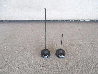2 CHP BLACK Laird Antenex QWB450 450-470 UHF QWB800 806-896 antenna police car 2