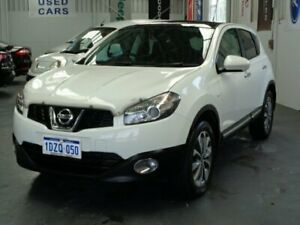 2012 Nissan Dualis J10 Series II MY2010 Ti Hatch X-tronic White 6 Speed Constant Variable Hatchback Rockingham Rockingham Area Preview