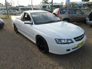 2003 Holden Commodore VY S White 5 Speed Manual Utility Sylvania Sutherland Area Preview
