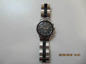 Classic Swatch Irony Watch Model AG 1999 Swiss Made Circa 1990s