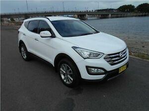2013 Hyundai Santa Fe DM MY13 Elite White 6 Speed Sports Automatic Wagon Hamilton East Newcastle Area Preview