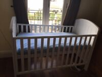 Mothercare Cot Bed White