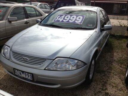 2001 Ford Falcon Auii SR Silver 4 Speed Automatic Sedan Keysborough Greater Dandenong Preview