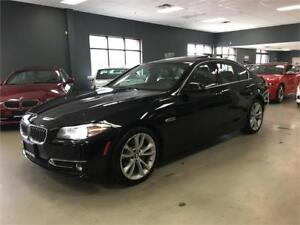 2014 BMW 5 Series 535i xDrive*NAV*BACK-UP CAM*LOW KM*ONE OWNER*