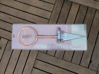 COPPER ORNAMENTAL GARDEN SPRINKLER - BRAND NEW - GLASS DECORATION