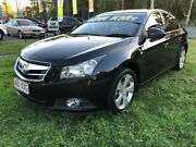 2010 Holden Cruze JG CDX Black 6 Speed Automatic Sedan Clontarf Redcliffe Area Preview