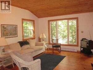 Waterfront cottage for rent St. Lawrence river.