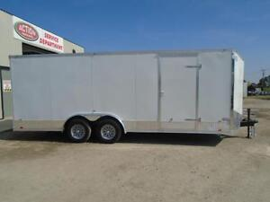 ENCLOSED CARGO/CAR HAULER LOWEST PRICE OF THE YEAR 20' LONG London Ontario image 5