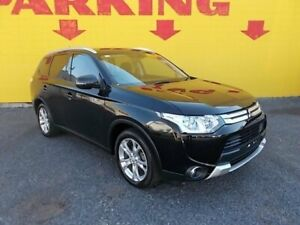 2014 Mitsubishi Outlander ZJ MY14.5 ES 2WD Black 6 Speed Constant Variable Wagon Winnellie Darwin City Preview
