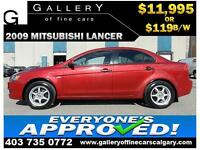 2009 Mitsubishi Lancer DE $119 BI-WEEKLY APPLY NOW DRIVE NOW