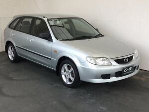 2003 Mazda 323 BJ II-J48 Astina Shades Silver 4 Speed Automatic Hatchback Mount Gambier Grant Area Preview