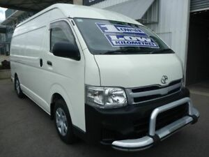 2013 Toyota HiAce KDH221R MY12 Super LWB White 5 Speed Manual Van Edwardstown Marion Area Preview