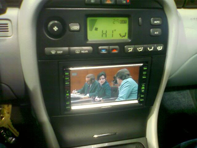 Jaguar    X   Type    Double Din Fascia Panel  DVD  Sat Nav