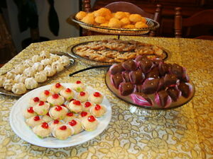 gateaux pour vos mariages/homemade cookies for your weddings West Island Greater Montréal image 8