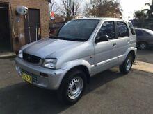 1998 Daihatsu Terios DX (4x4) Silver 5 Speed Manual 4x4 Wagon Campbelltown Campbelltown Area Preview