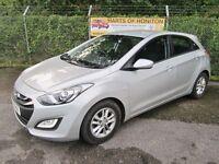 Hyundai i30 1.6 Active 5DR Auto (silver) 2013