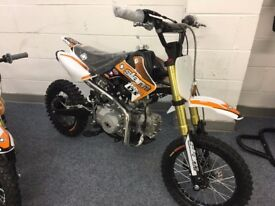 NEW SLAM MXR125 PIT BIKE 125CC 4 STROKE MX KTM ORANGE GREAT SPEC MXR 125 like STOMP THUMPSTAR WPB