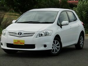 2011 Toyota Corolla ZRE152R MY11 Ascent White 6 Speed Manual Hatchback Strathalbyn Alexandrina Area Preview
