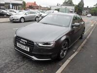 2012 (62) AUDI A4 2.0 TDI S LINE BLACK EDITION 4DR Manual