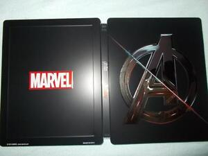 3D + BLU RAY! AVENGERS + AGE OF ULTRON STEELBOOK