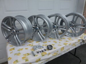 Roues mag 17 pouces Silver