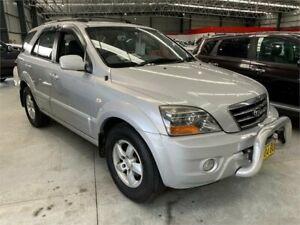 2007 Kia Sorento BL MY07 EX Silver Sports Automatic Wagon Boolaroo Lake Macquarie Area Preview