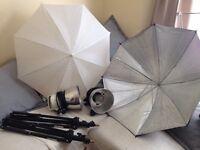 Tungsten Studio Lighting Kit