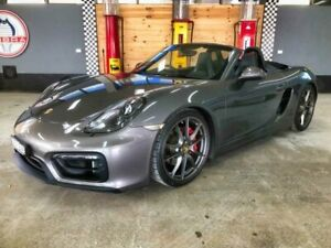 2014 Porsche Boxster 981 MY15 GTS Agate Grey 7 Speed Auto Dual Clutch Roadster Fyshwick South Canberra Preview