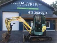 [FR]Yanmar Vio-35 Excavator Cornwall Ontario Preview