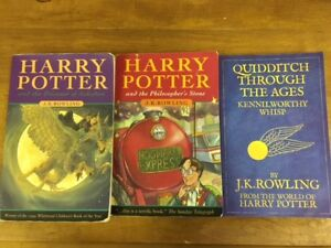 HARRY POTTER softcover books for sale - 3 books in total - $15.