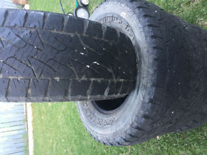 LT 265/70 R 17 SUMMER TIRES LOAD RANGE E