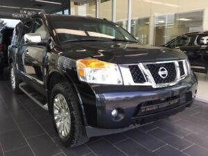 2015 Nissan Armada PLATINUM, NAVI, 4WD, ACCIDENT FREE