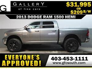 2013 DODGE RAM SLT LIFTED *EVERYONE APPROVED* $0 DOWN $209/BW!