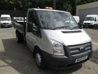Ford Transit T350 MWB Tipper Tdci 100Ps [Drw] Euro 5 DIESEL MANUAL SILVER (2013)