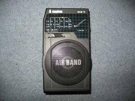 Steepletone SAB11 Airband Radio for Hobbyists