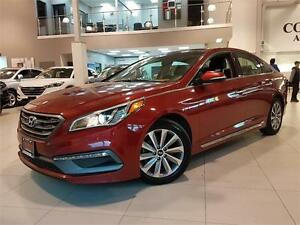2015 Hyundai Sonata SPORT-PANO ROOF-REAR CAM-ONLY 58KM