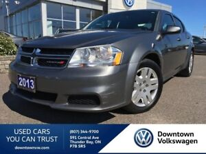 2013 Dodge Avenger LOCAL TRADE, LOW KMS, PRICED FOR A QUICK SALE