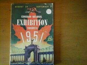 1951 Canadian National Exhibition Program