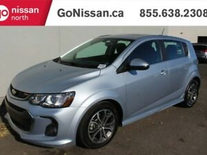 2017 Chevrolet Sonic RS PACKAGE, SUNROOF, PUSH BUTTON,BACKUP CAM