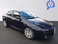 ALFA ROMEO 159 2.4 JTDM Turismo 4dr (black) 2007