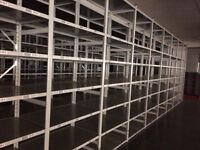LINK industrial shelving 3m high AS NEW ( storage , pallet racking )