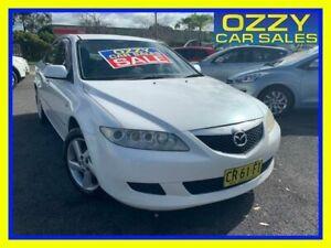 2005 Mazda 6 GG Classic White 4 Speed Auto Activematic Sedan Minto Campbelltown Area Preview