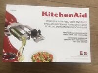 **Kitchen Aid Spiralizer** BRAND NEW in box