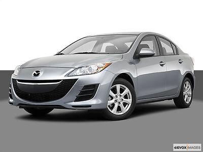 2010 Mazda 3 I Touring Sedan 4-Door 2.0L