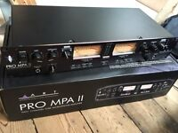 ART Pro MPA II // 2 Channel Tube Preamp // Excellent condition // New JJ tubes