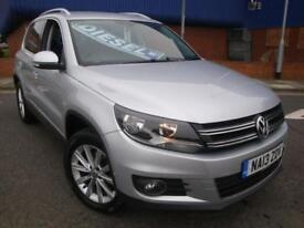 13 VW TIGUAN 2.0 TDI 4MOTION DSG DIESEL AUTO 4X4 *SENSORS*PRIVACY GLASS*